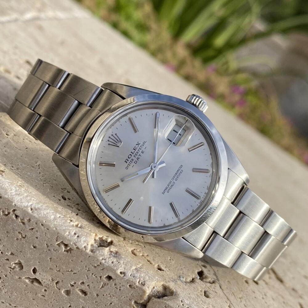 Rolex 15000 Silver Stick Dial c1984 #8792487