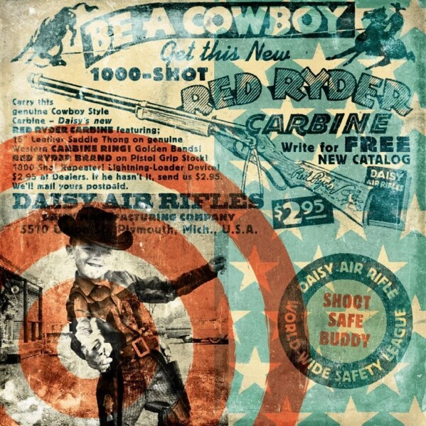 Closeup photo of Should Have Been a Cowboy