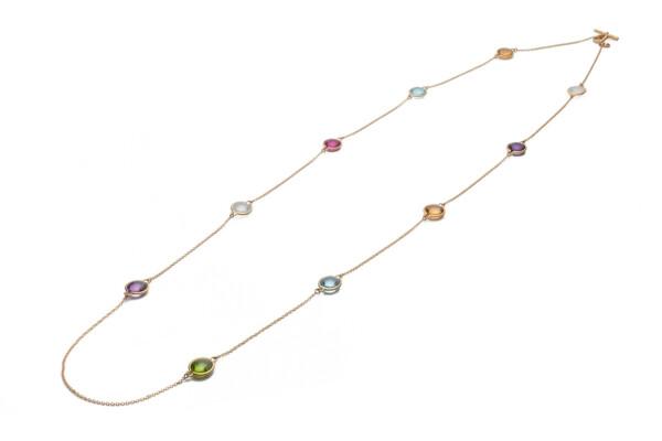 Closeup photo of Mischief Multicolor Necklace