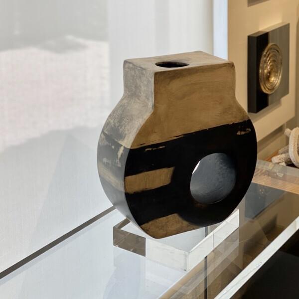 Closeup photo of Ceramic Vessel