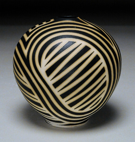 Closeup photo of Stripes And Zig Zag