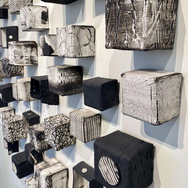 Closeup photo of Cubes Medium