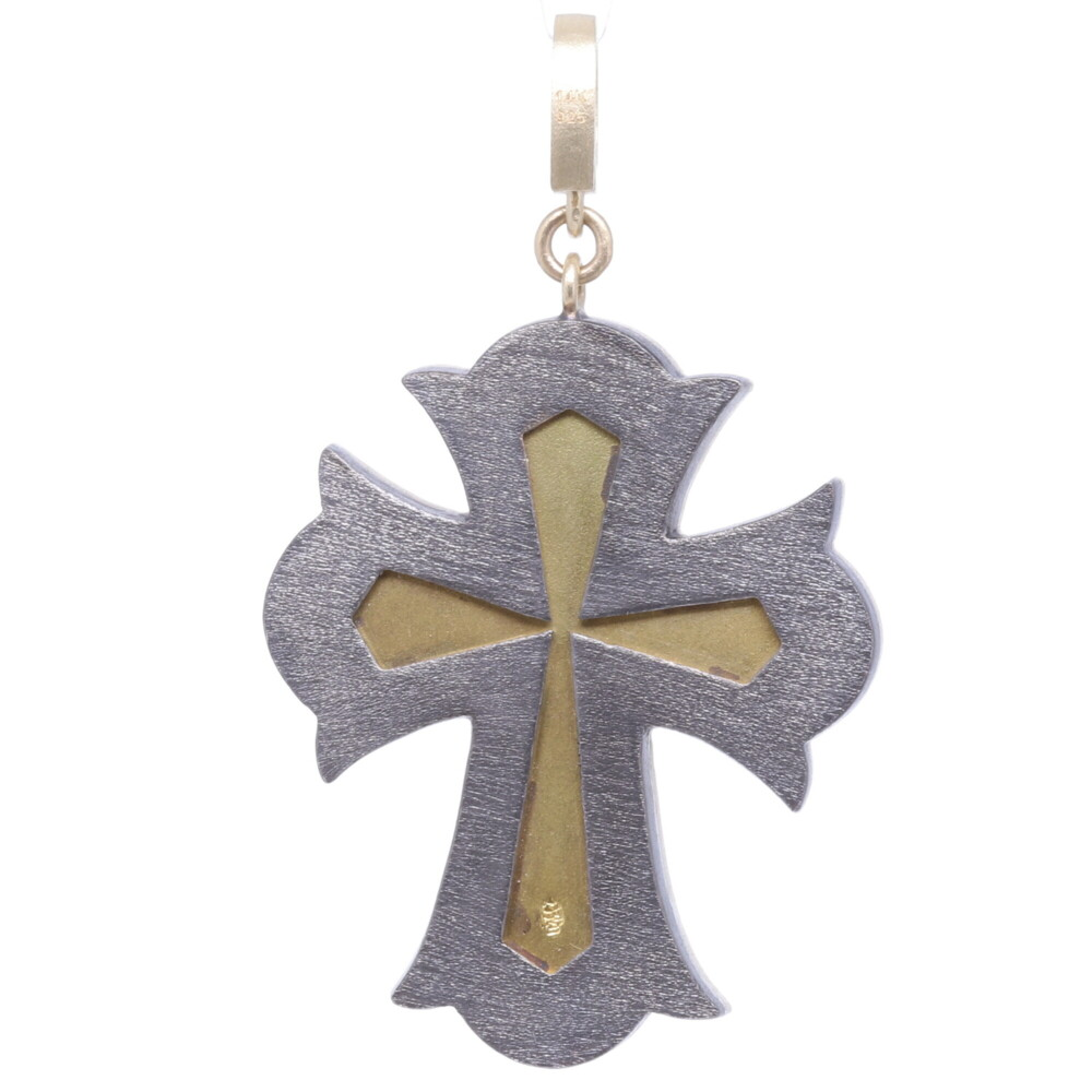 Image 2 for Turquoise Italian Grand Tour Micro Mosaic Cross