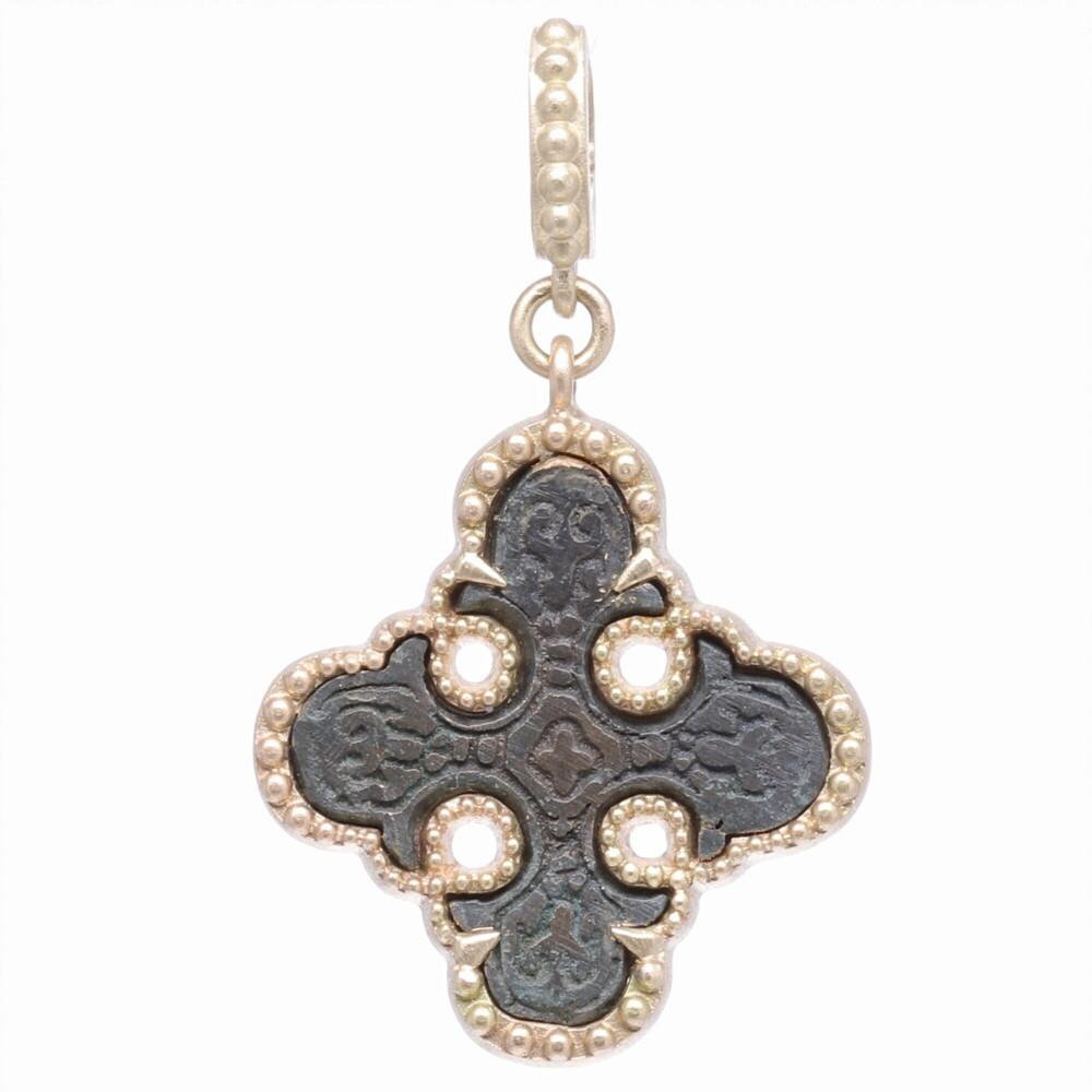 Artifact Maltese Cross Pendant
