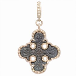 Closeup photo of Artifact Maltese Cross Pendant