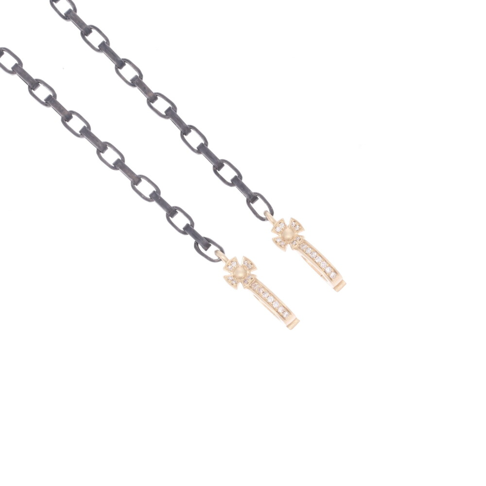 Classic Cross Bale Display Necklace with Open-able Bales