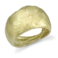Closeup photo of Olive Leaf Ring
