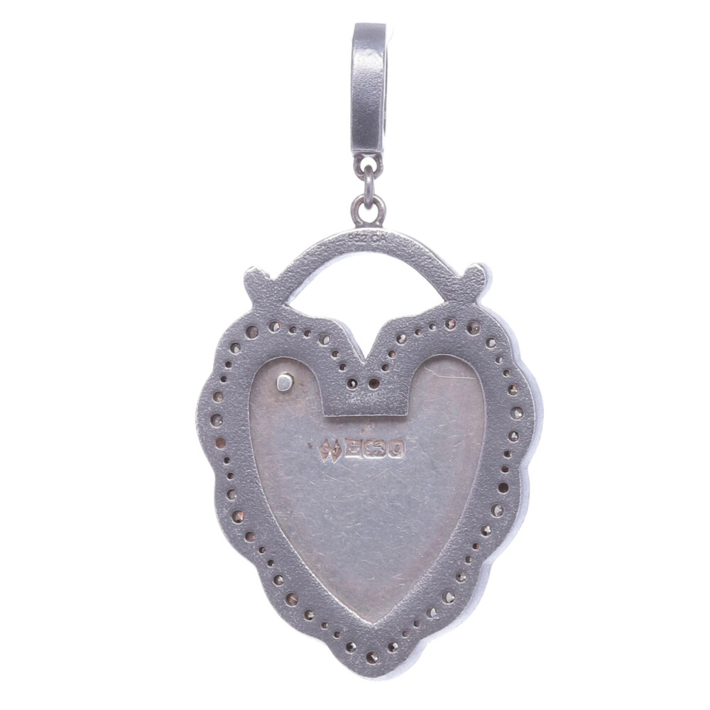 Image 2 for Old English Padlock Pendant