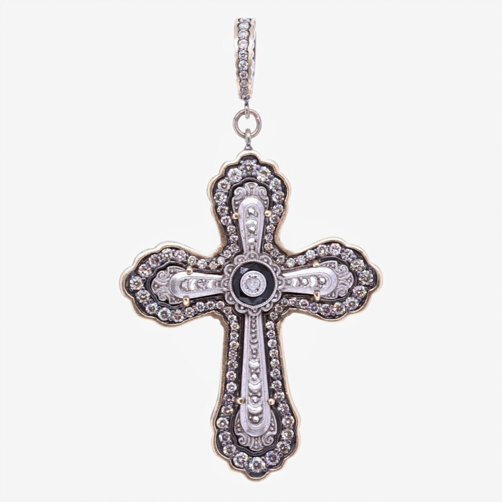 Image 2 for Edwardian Cross Pendant