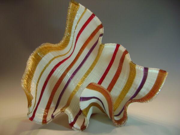 Closeup photo of Sarafina Glass Tapestry