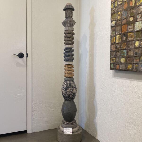 Closeup photo of Primativa Concrete Totem