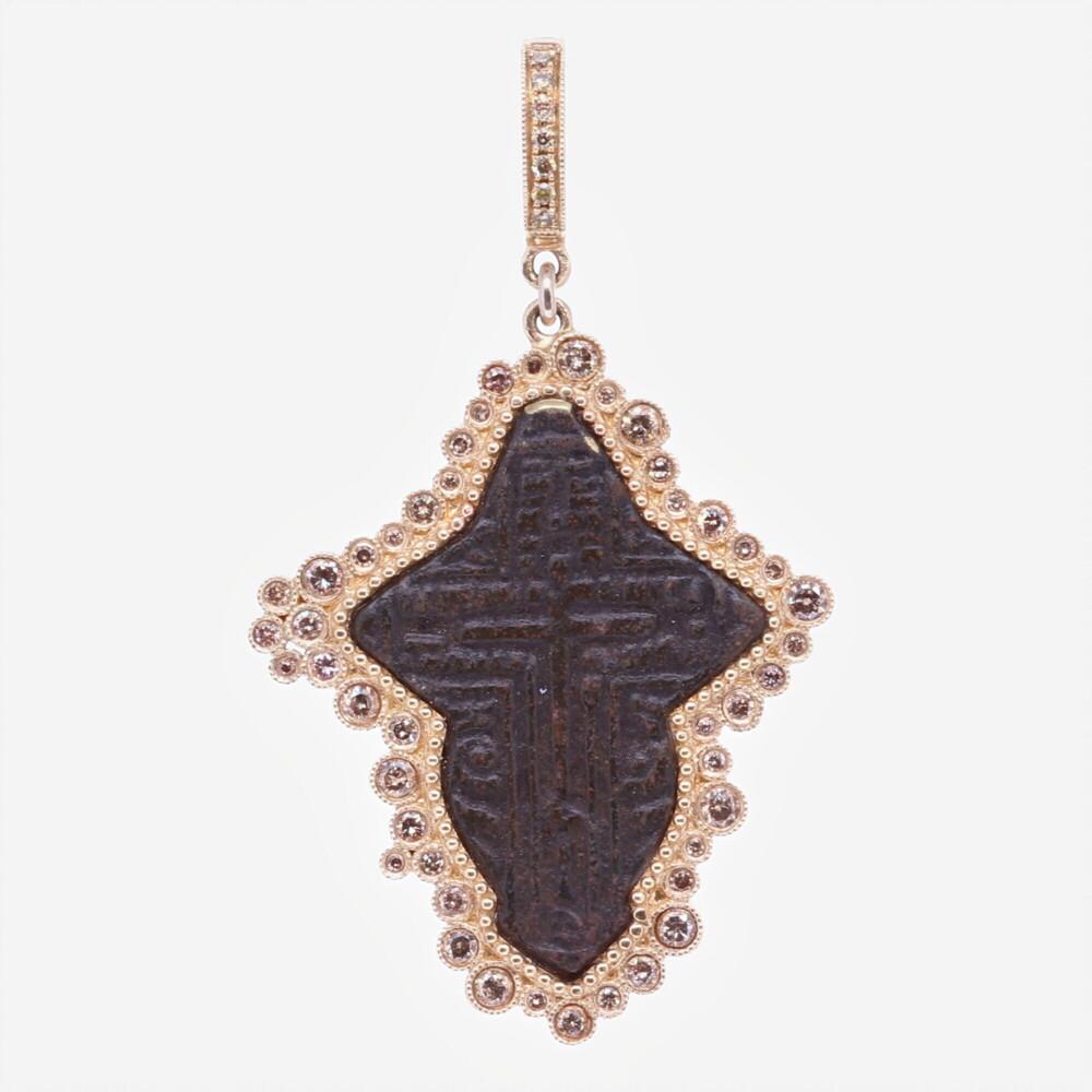 Russian Orthodox Cross Pendant