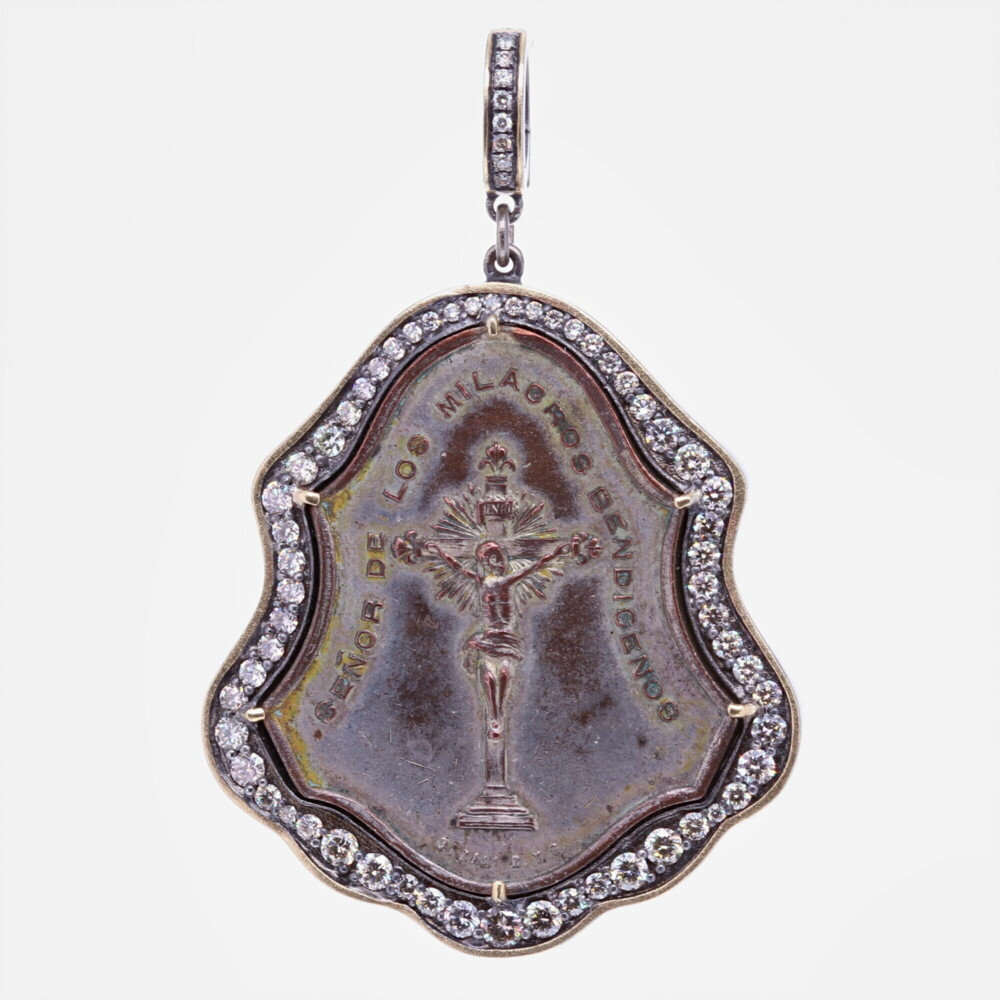 Antique Lord of Miracles Pendant