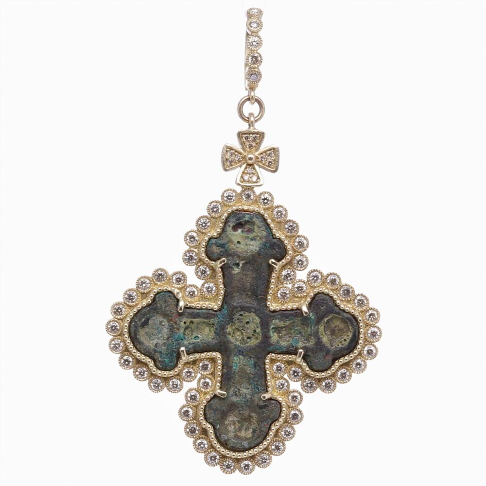 Ancient Viking Cross Pendant