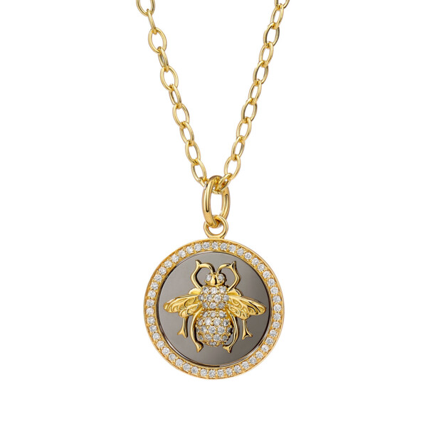 Closeup photo of Llimited Edition QUEEN BEE PENDANT