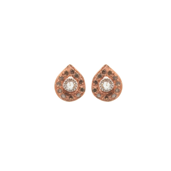 Closeup photo of Plume Earrings