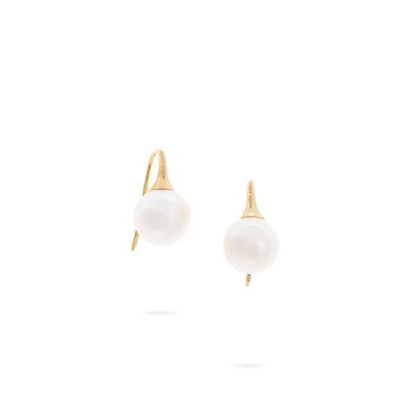 Closeup photo of Africa Pearl Earrings