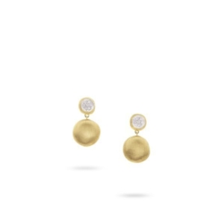 Closeup photo of Jaipur Drop diamond Earrings