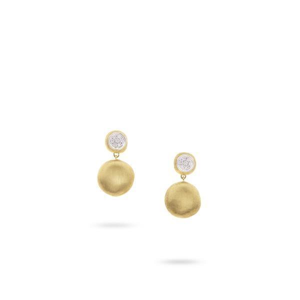 Closeup photo of Jaipur Drop diamond Earrings