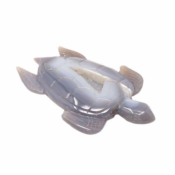 . Agate Geode Turtles