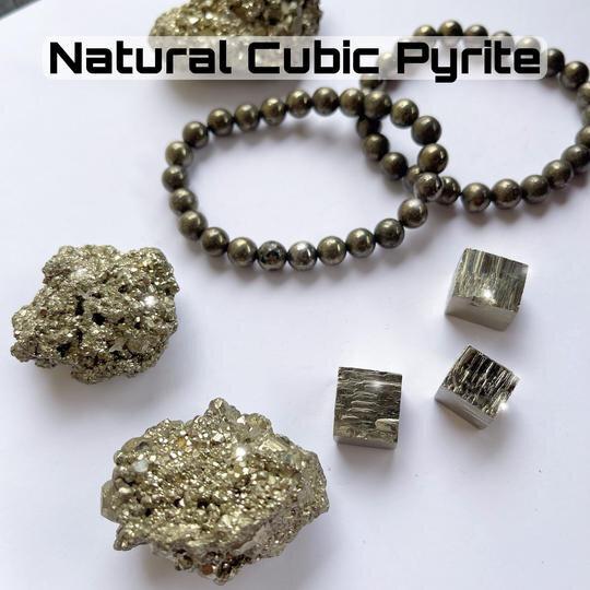 . Natural Cubic Pyrite