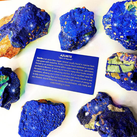 . Amazing Azurite