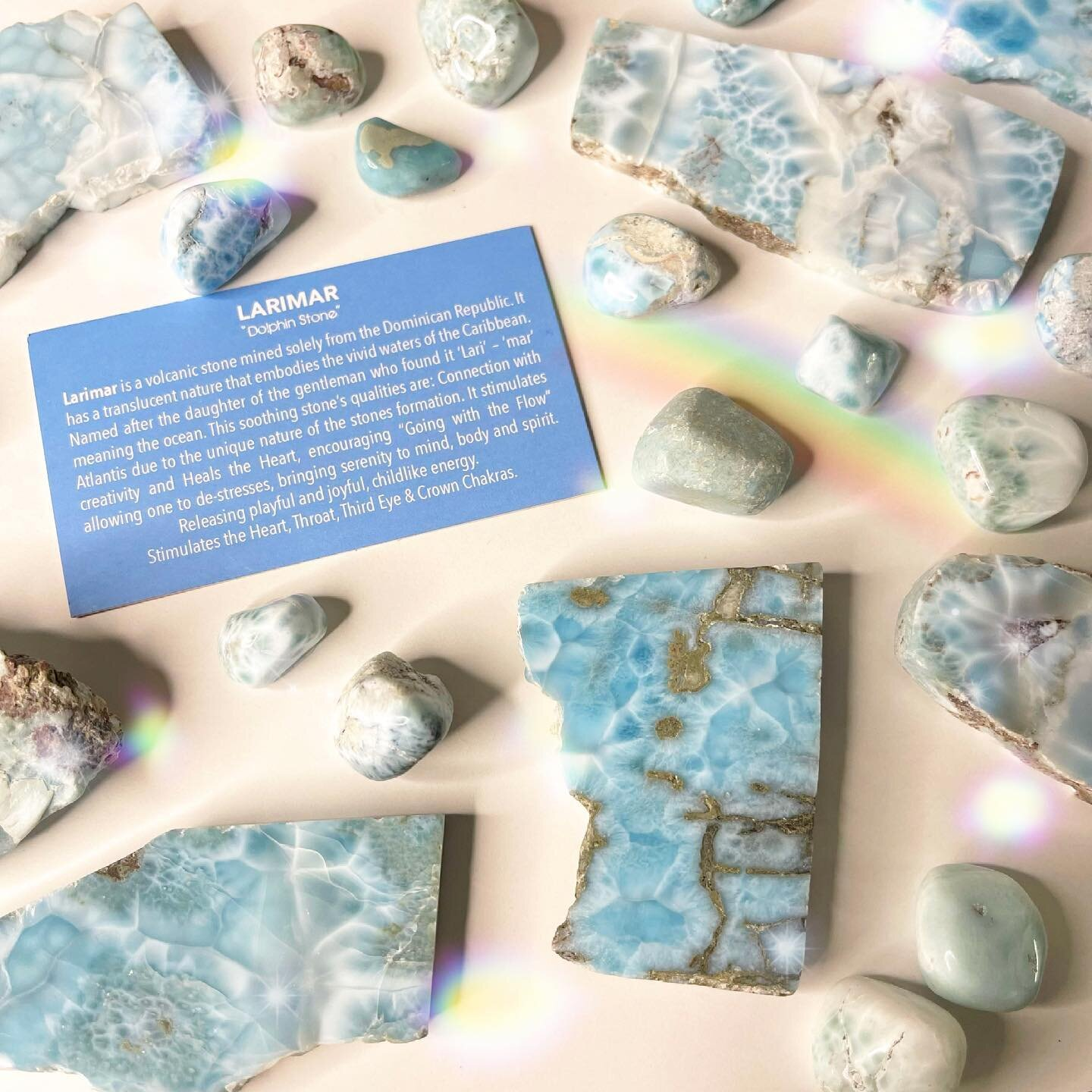 . Lovely Larimar: The Dolphin Stone