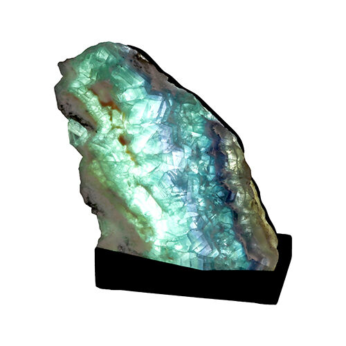 Fluorite Slice Luminary