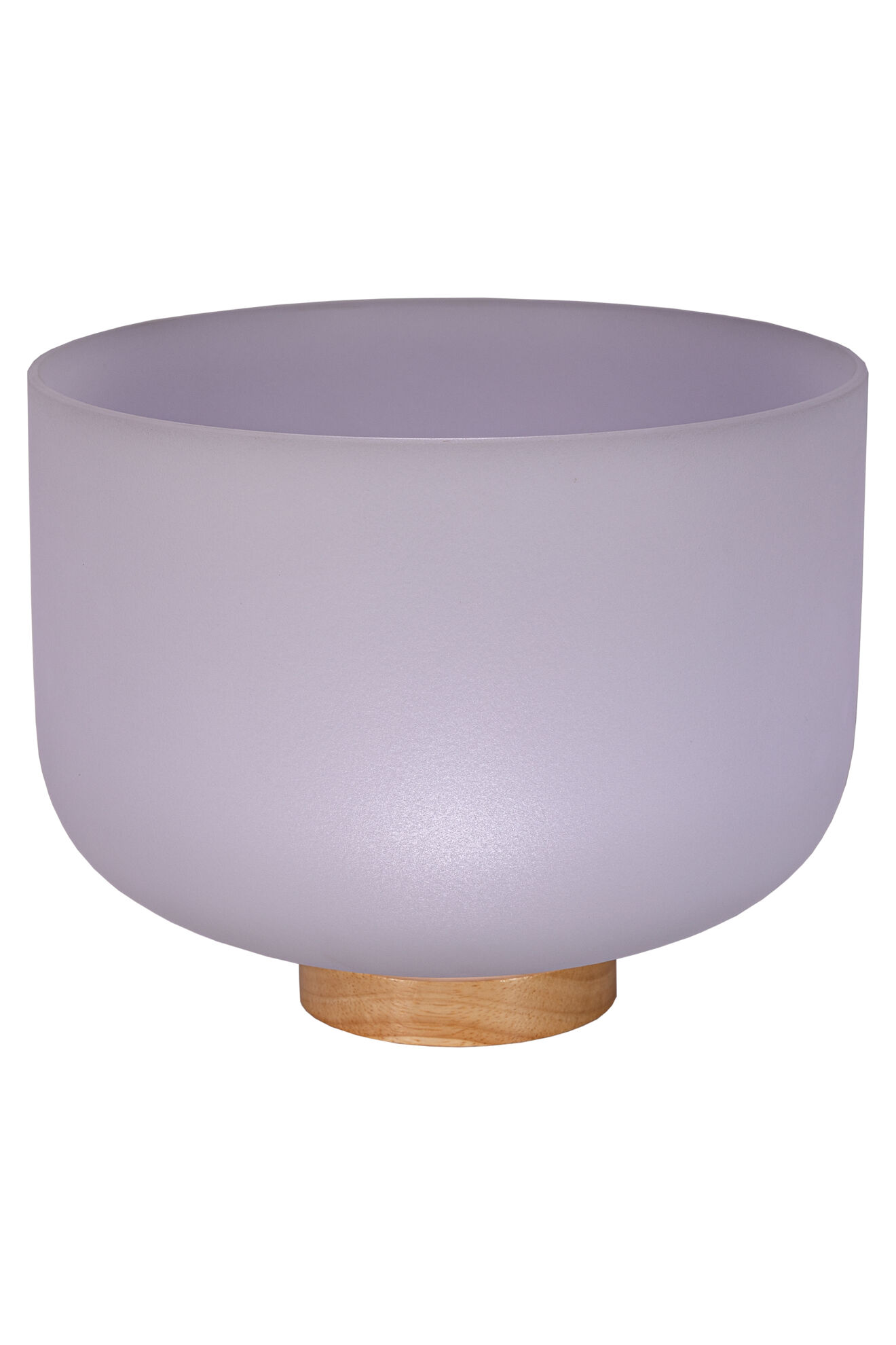 8 Frosted Quartz Singing Bowl Note A Perfect