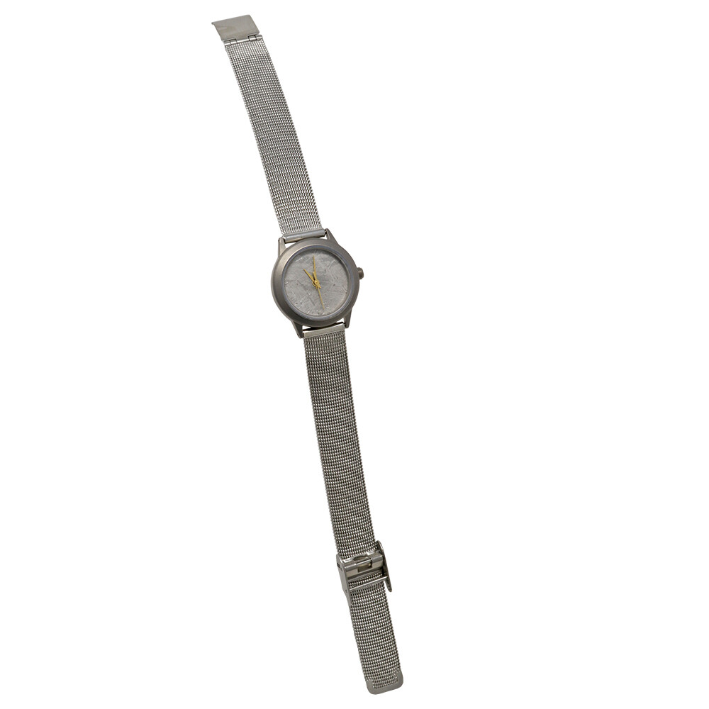 Muonionalusta Meteorite Watch - 20mm Face With Stainless Steel Band