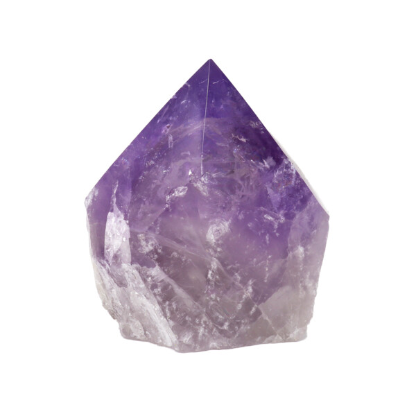 Closeup photo of Amethyst Point -Polished -M/l