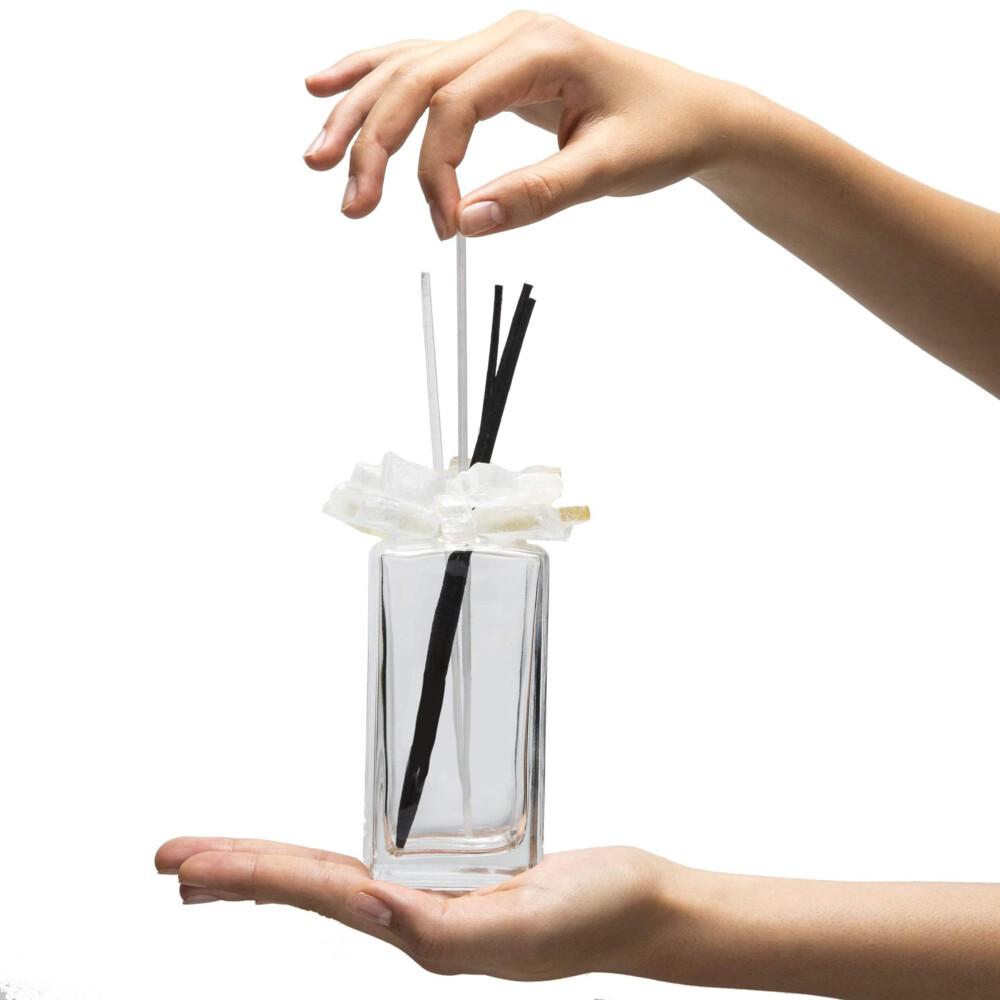 Calcite Gemstone Scent Diffuser With Selenite & Wooden Sticks