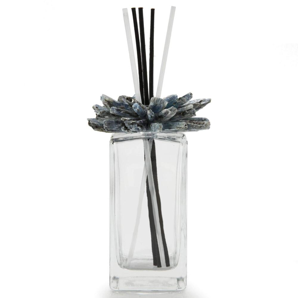 Kyanite Gemstone Scent Diffuser With Selenite & Wooden Sticks