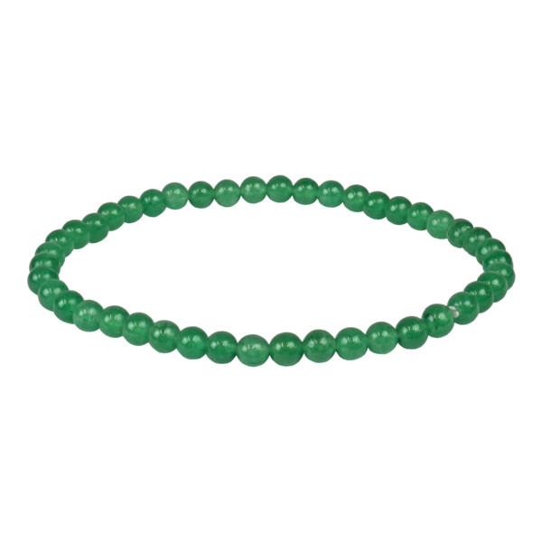 Closeup photo of Green Aventurine 4mm Bracelet