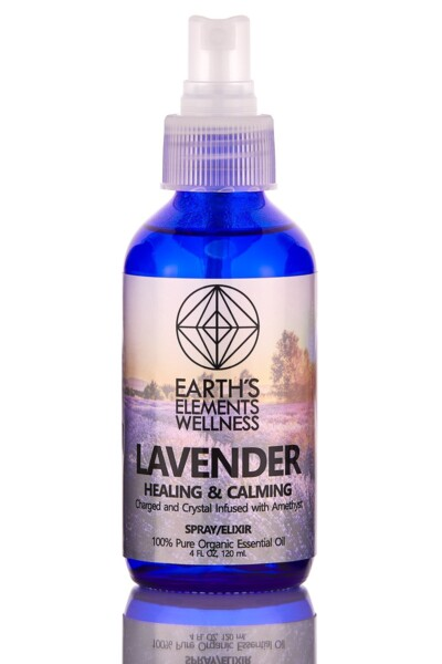 Closeup photo of Organic Lavendar Spray 120ml