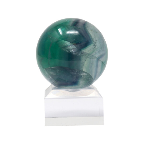 Closeup photo of Fluorite Sphere