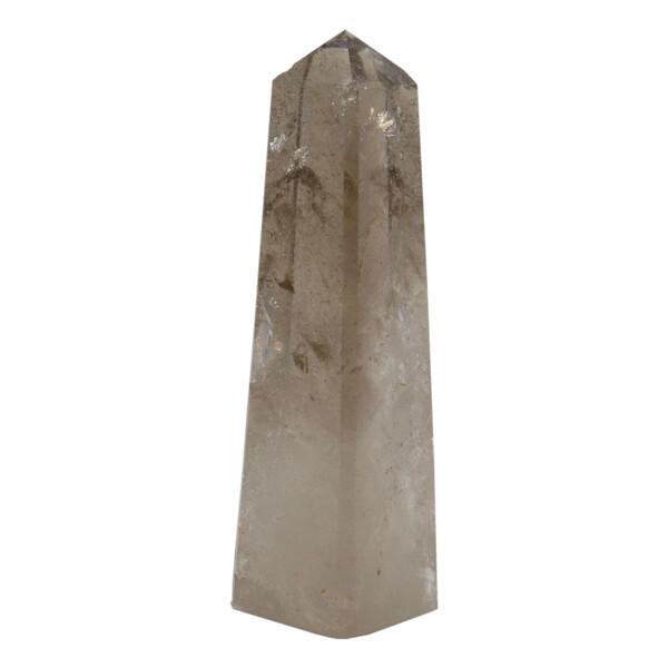 Closeup photo of Smoky Quartz Obelisk