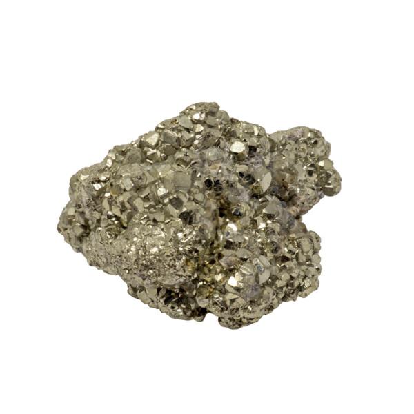 Closeup photo of Peruvian Pyrite Cluster