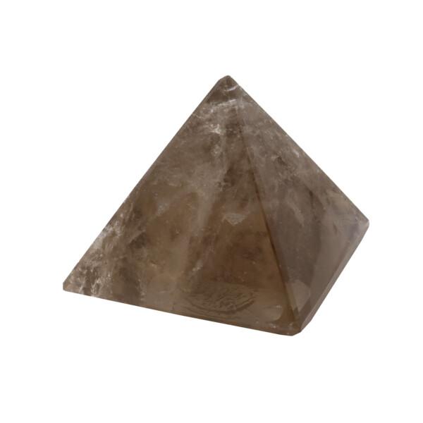 Closeup photo of Smoky Quartz Pyramid 45mm