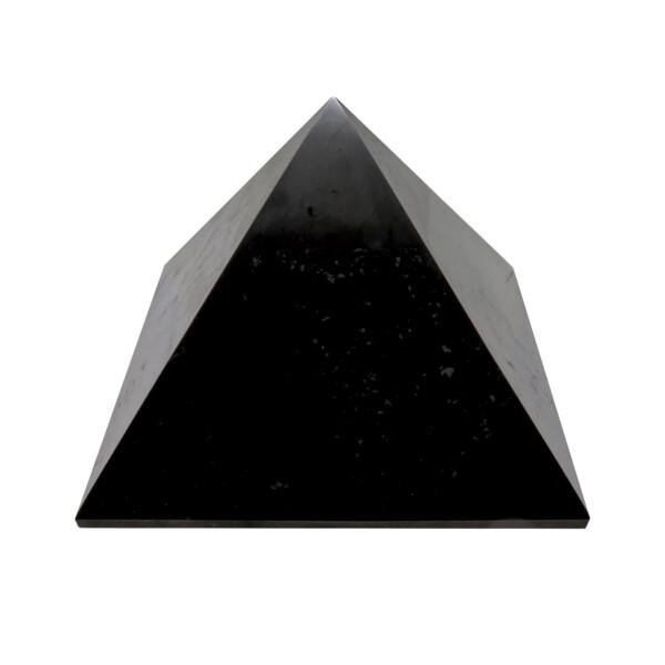 Closeup photo of Shungite Pyramid Extra Large 20cm