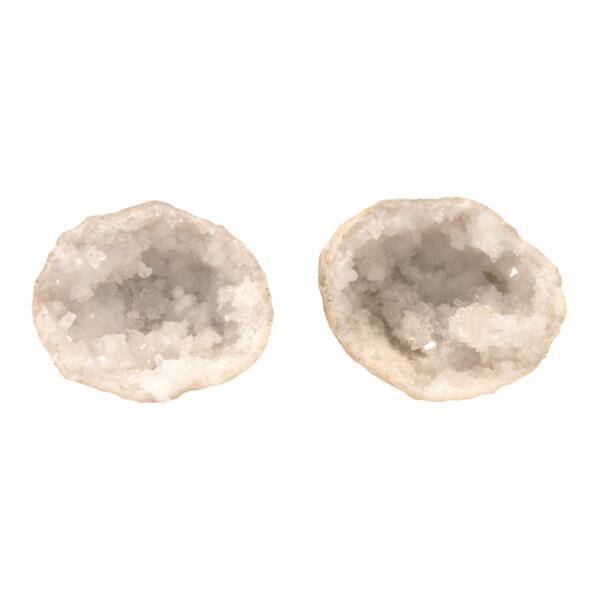 Closeup photo of Pre-Cracked Mini Moroccan Geode