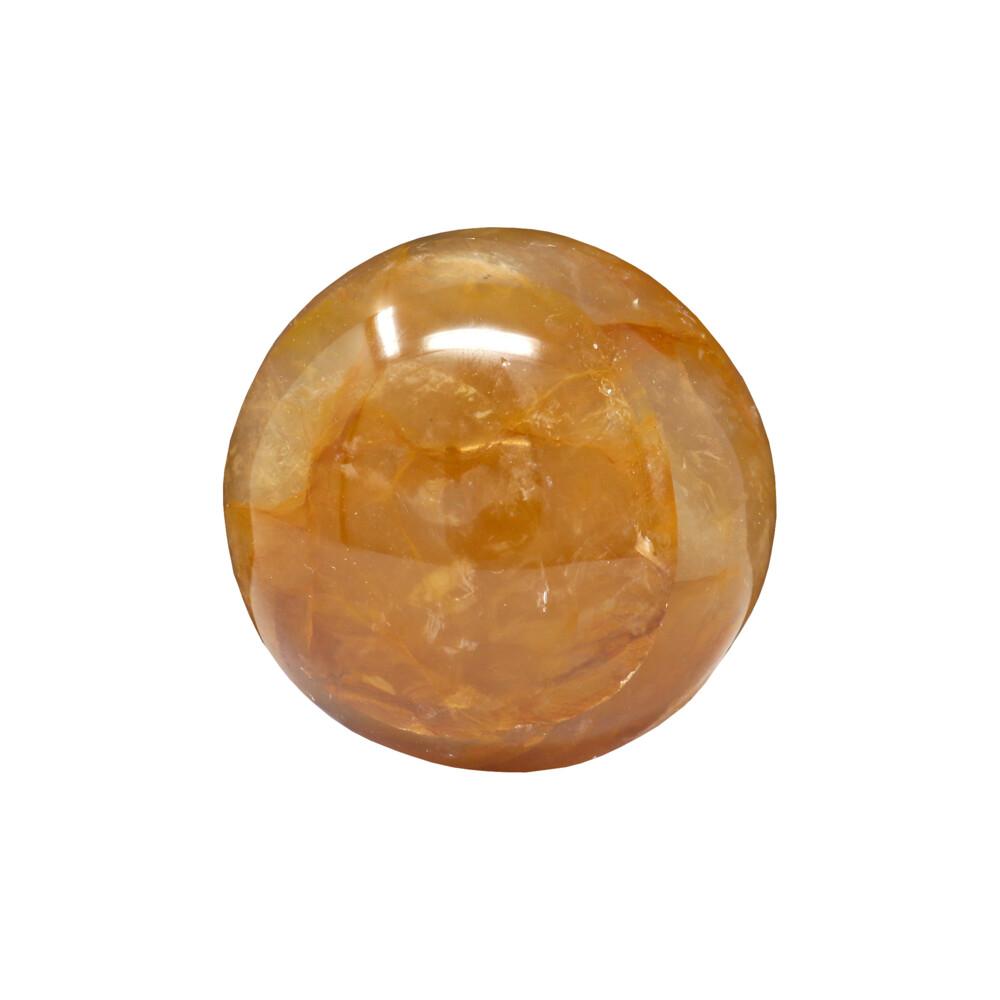 Golden Healer Hematoid Quartz Palm Stones