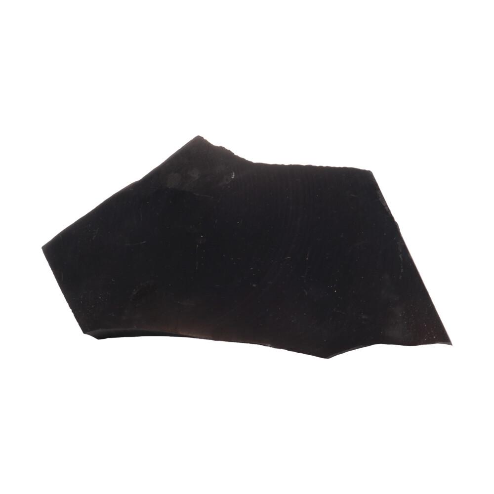 Shungite Slice with Polished Side