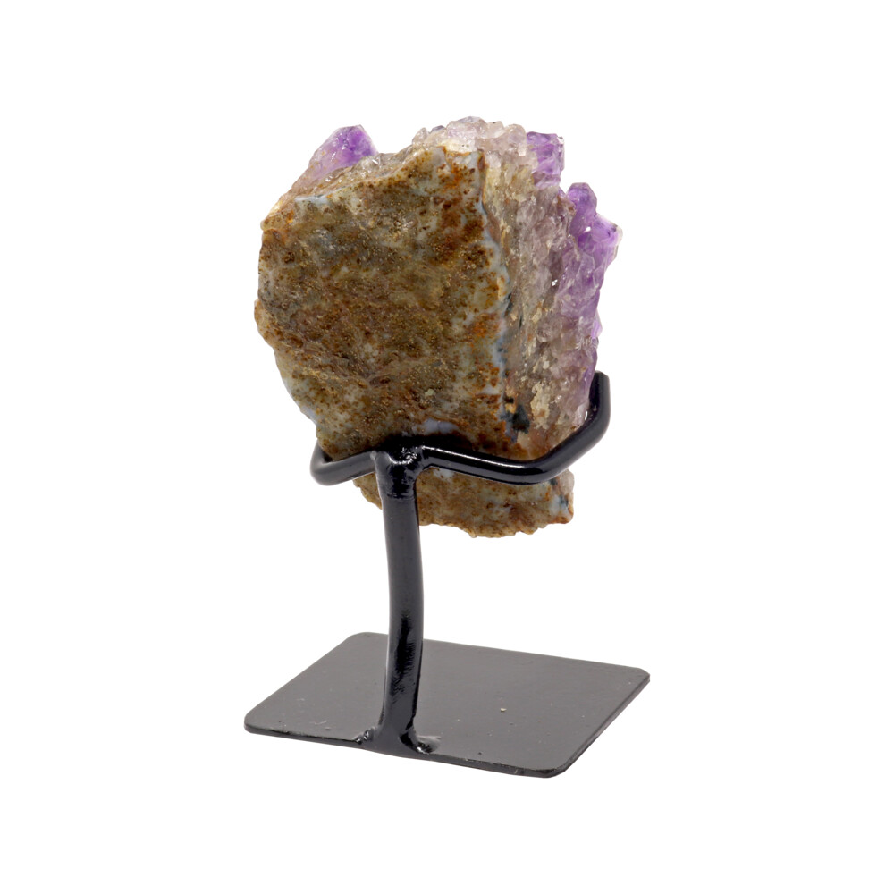 Amethyst Cluster On A Fitted Stand