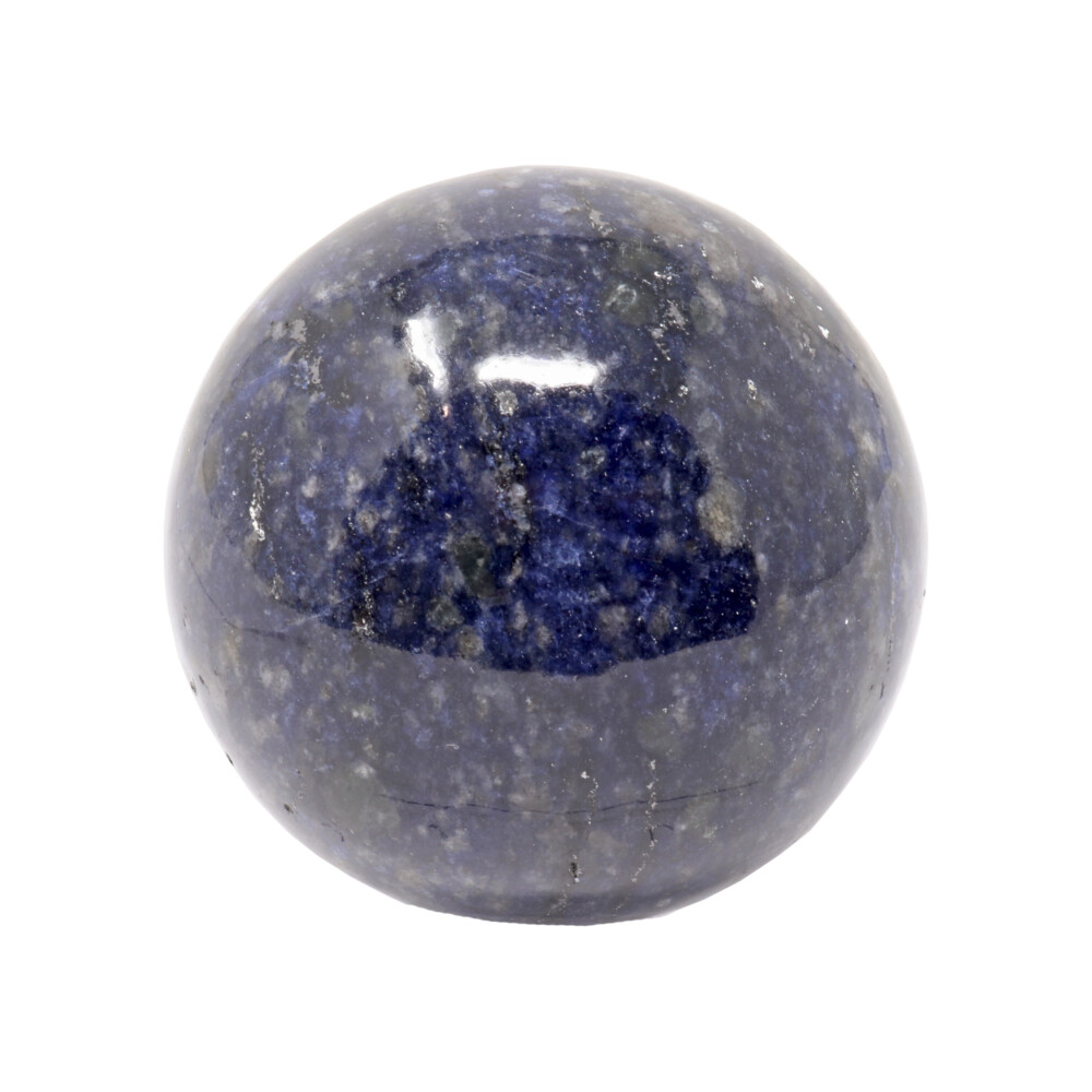 Sodalite Sphere On Ring Stand