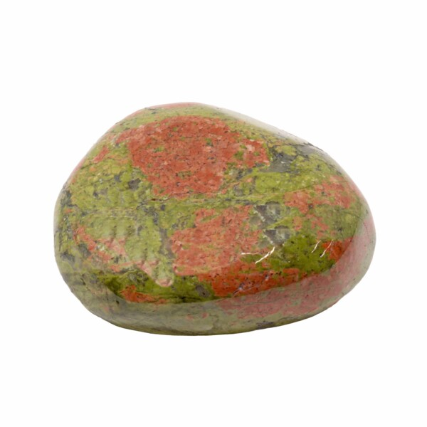 Closeup photo of Unakite Therapy Stone