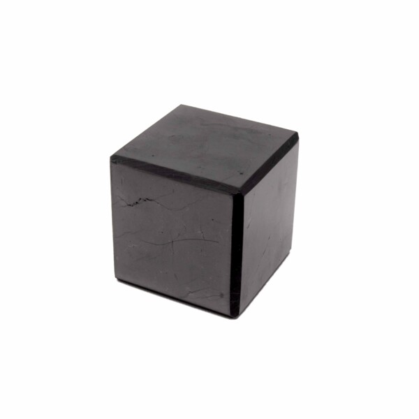 Closeup photo of Shungite Cube