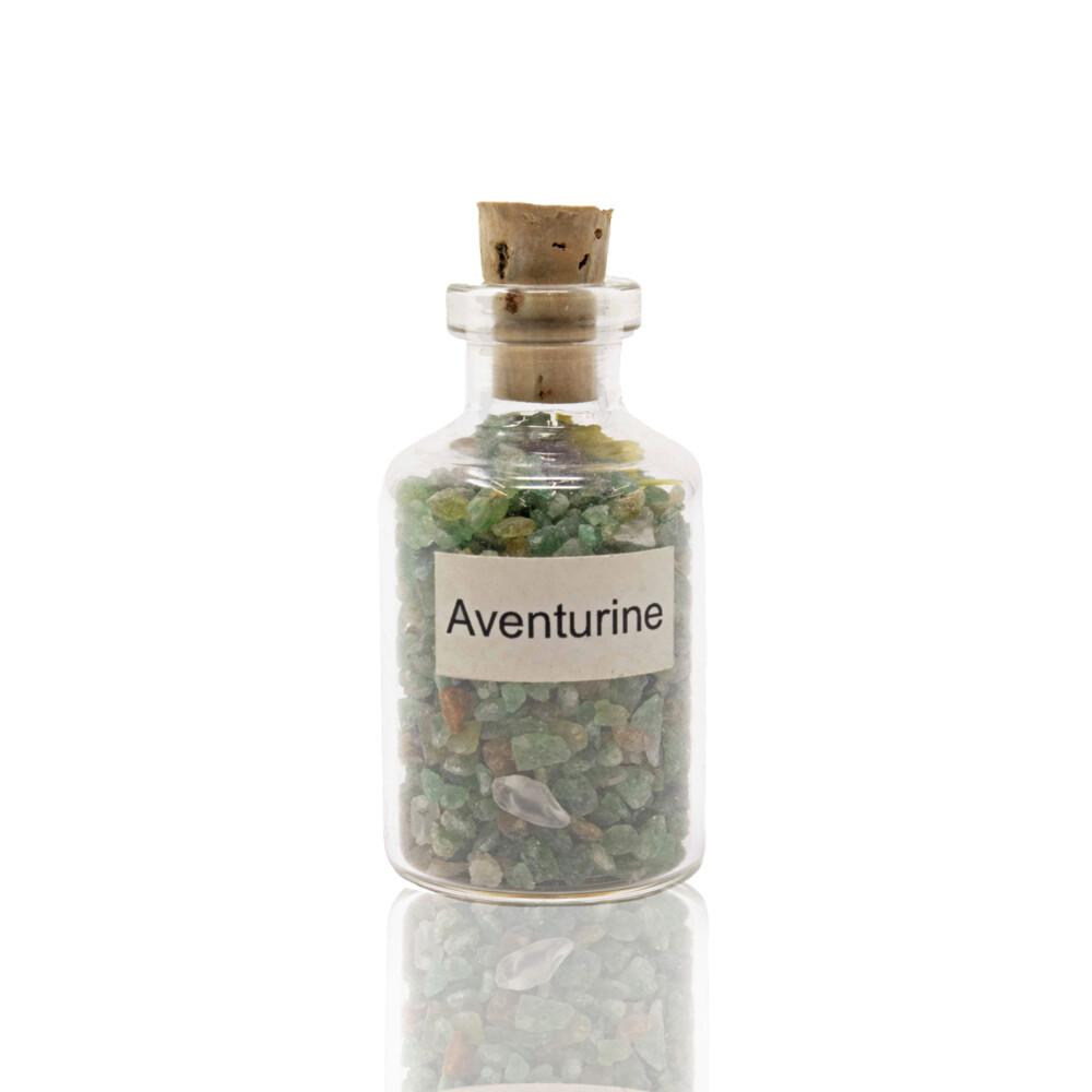Individual Gemstone Bottle -Aventurine