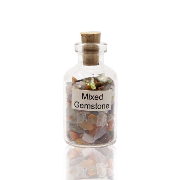 Closeup photo of Individual Gemstone Bottle -Mix Gem