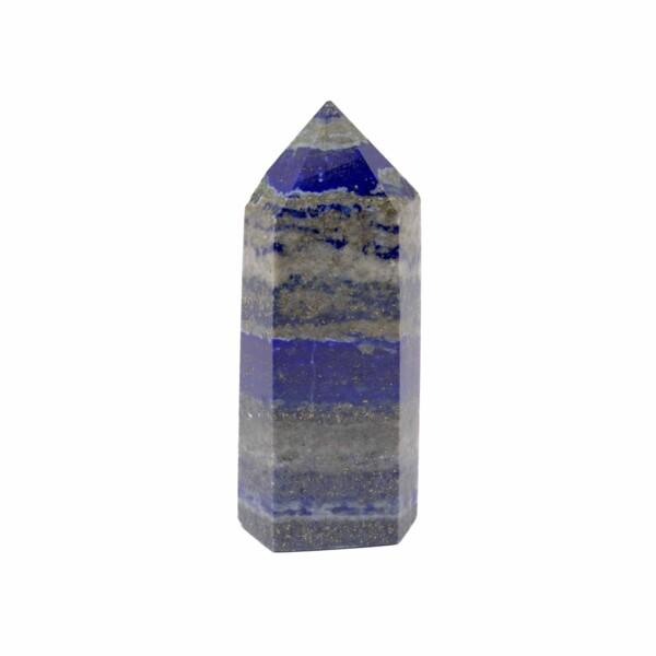 Closeup photo of Lapis Lazuli Tower Point